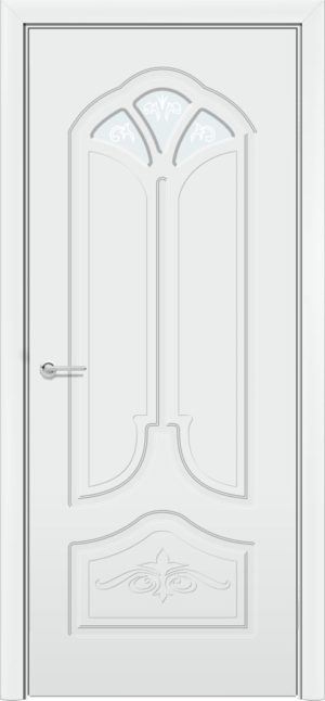 Б 21 белоснежная патина серебро 3