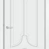 Межкомнатная дверь эмаль Б 14 белоснежная 2