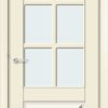 Межкомнатная дверь эмаль Б 19 белоснежная 1