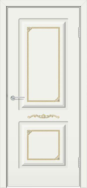 Межкомнатная дверь эмаль Б 3 белая 3