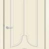 Межкомнатная дверь эмаль Б 16 белая патина серебро 1