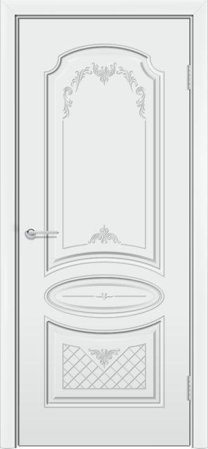 Межкомнатная дверь эмаль Б 22 белая 3