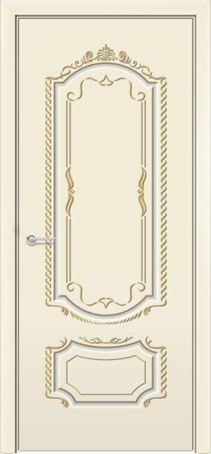 Межкомнатная дверь эмаль Б 16 бежевая 3