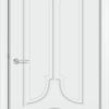 Межкомнатная дверь эмаль Б 11 белая патина золото 1