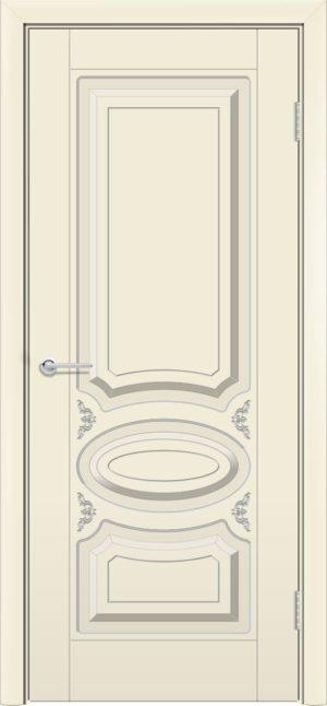 Межкомнатная дверь эмаль Б 1 бежевая 3