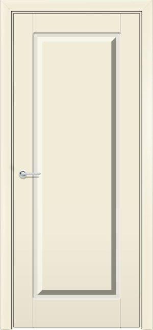 Межкомнатная дверь эмаль Б 18 бежевая 4