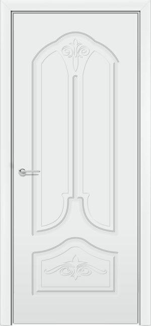 Межкомнатная дверь эмаль Б 20 белая 3
