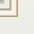 Межкомнатная дверь эмаль Б 14 белоснежная патина золото 11