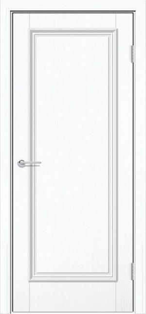 Межкомнатная дверь ПВХ Лира 1 белый 3