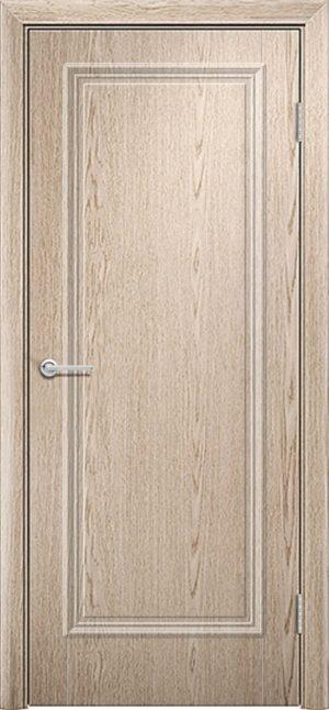 Межкомнатная дверь ПВХ Лира 1 ель карпатская 1