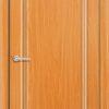 Межкомнатная дверь ПВХ Лира 4 светлый орех 2