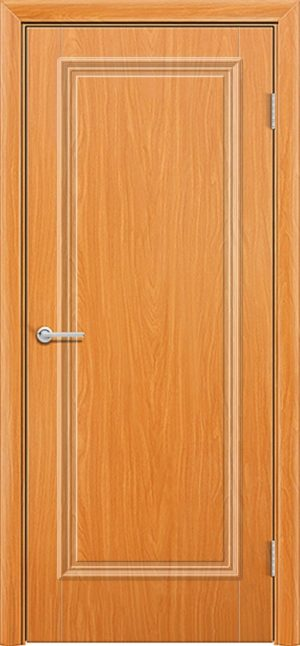 Межкомнатная дверь ПВХ Лира 1 миланский орех 1
