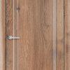 Межкомнатная дверь ПВХ Лира 4 венге патина 2