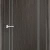 Межкомнатная дверь ПВХ Лира 6 белый 1