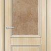 Межкомнатная дверь ПВХ Лира 2 белёный дуб 1