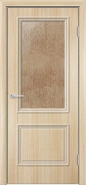Межкомнатная дверь ПВХ Лира 2 белёный дуб 3