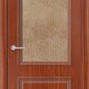 Межкомнатная дверь ПВХ Лира 6 светлый орех 2