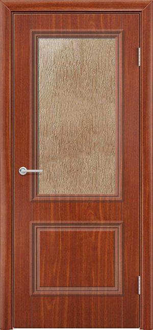 Межкомнатная дверь ПВХ Лира 2 итальянский орех 3