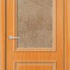 Межкомнатная дверь ПВХ Лира 4 венге патина 1