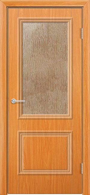Межкомнатная дверь ПВХ Лира 2 миланский орех 3