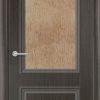 Межкомнатная дверь ПВХ Лира 2 белёный дуб 2