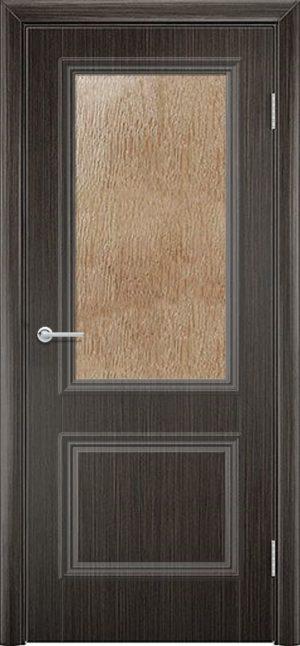 Межкомнатная дверь ПВХ Лира 2 венге 3
