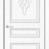 Межкомнатная дверь ПВХ Лира 2 итальянский орех 2