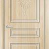 Межкомнатная дверь ПВХ Лира 3 темный орех 2