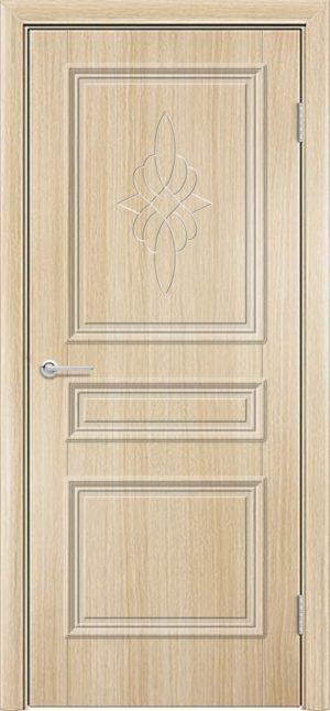 Межкомнатная дверь ПВХ Лира 3 белёный дуб 3