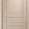 Межкомнатная дверь ПВХ Лира 5 миланский орех 1