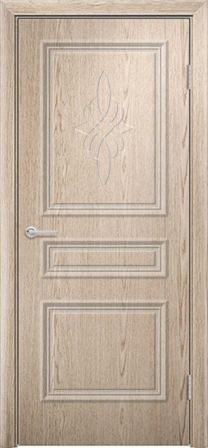 Межкомнатная дверь ПВХ Лира 3 ель карпатская 3