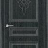 Межкомнатная дверь ПВХ Лира 1 венге 1