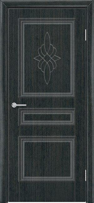 Межкомнатная дверь ПВХ Лира 3 венге патина 3