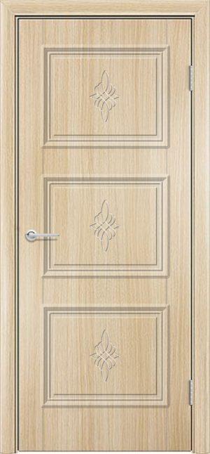 Межкомнатная дверь ПВХ Лира 4 белёный дуб 3
