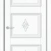 Межкомнатная дверь ПВХ Лира 6 дуб шоколадный 1
