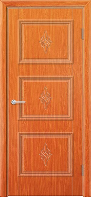 Межкомнатная дверь ПВХ Лира 4 груша 1