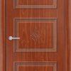 Межкомнатная дверь ПВХ Лира 3 темный орех 1