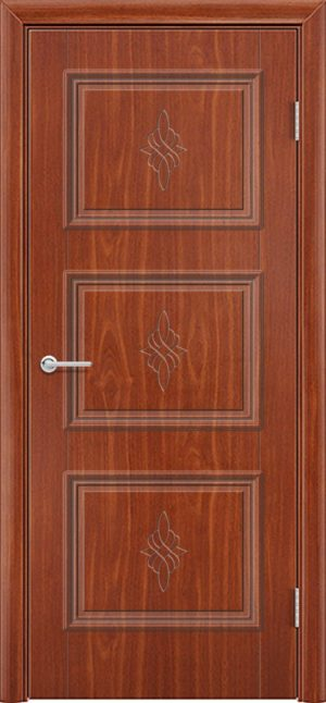 Межкомнатная дверь ПВХ Лира 4 итальянский орех 3