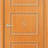 Межкомнатная дверь ПВХ Лира 6 темный орех 2