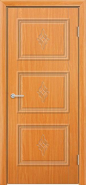 Межкомнатная дверь ПВХ Лира 4 миланский орех 3