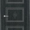 Межкомнатная дверь ПВХ Лира 2 миланский орех 2