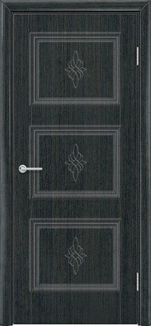 Межкомнатная дверь ПВХ Лира 4 венге патина 3