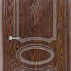 Межкомнатная дверь ПВХ Лира 5 белый 2
