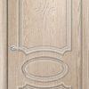 Межкомнатная дверь ПВХ Лира 1 миланский орех 2