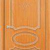 Межкомнатная дверь ПВХ Лира 5 миланский орех 2