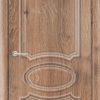 Межкомнатная дверь ПВХ Лира 6 светлый орех 1