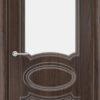 Межкомнатная дверь ПВХ Лира 3 белёный дуб 2