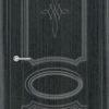Межкомнатная дверь ПВХ Лира 5 венге патина 2