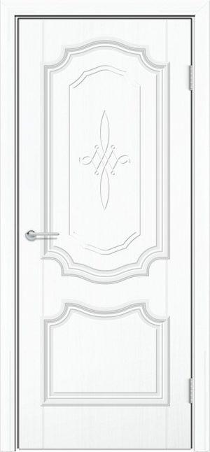 Межкомнатная дверь ПВХ Лира 6 белый 3