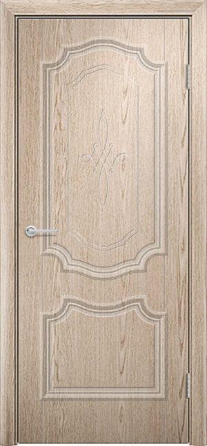 Межкомнатная дверь ПВХ Лира 6 ель карпатская 3